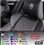 Scania Logo Car seat Decals
